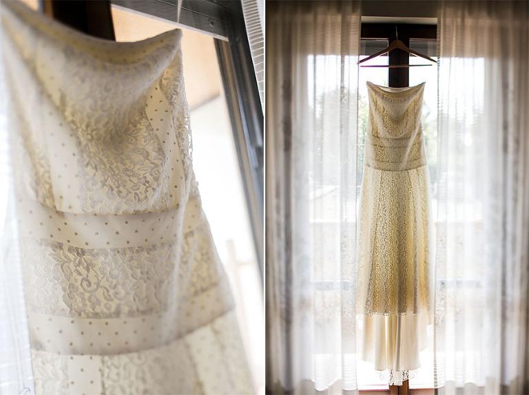 wedding dress details photographer florence