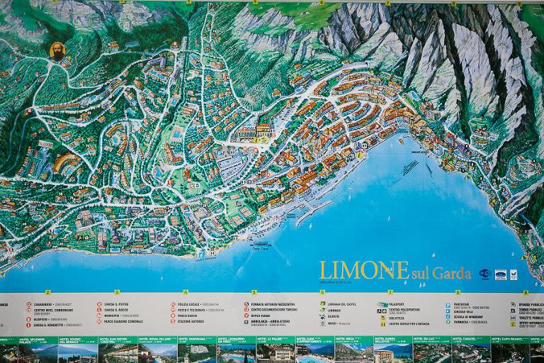 limone sul garda map