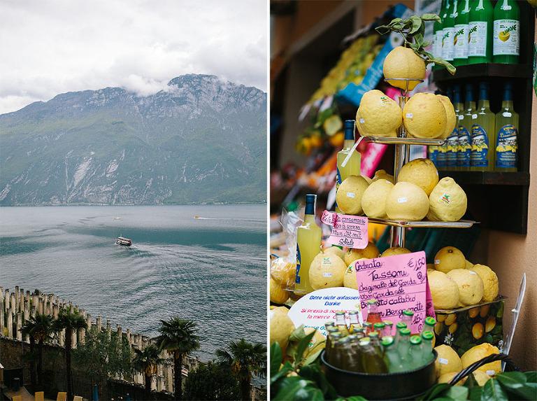 lemons on garda lake