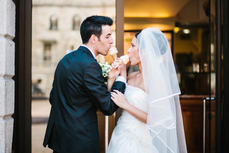 gelato e matrimonio Trento