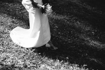 momenti emozionanti ritratto sposi matrimonio cortina d'ampezzo lago ghedina