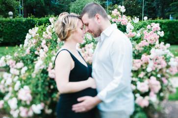 ritratto coppia servizio fotografico maternità