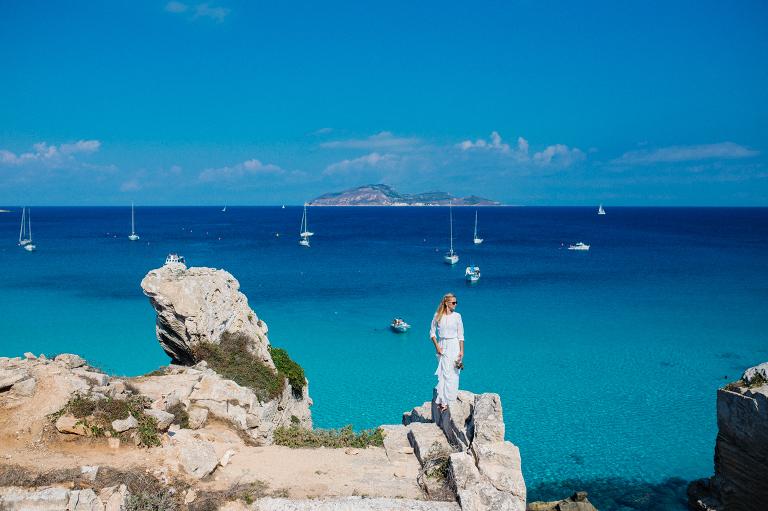 Sicilia matrimonio Favignana la fotografia cava rossa